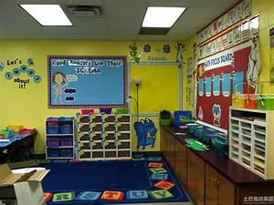 幼儿园布置教室图片大全_土巴兔装修效果图