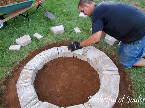 build a pit diy how to build a fancy pit dads table