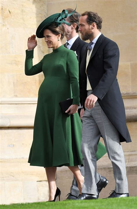 princess eugenies royal wedding guest outfits   wear