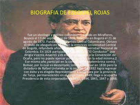 Biografia De Resumen by Biografia De Ezequiel Rojas