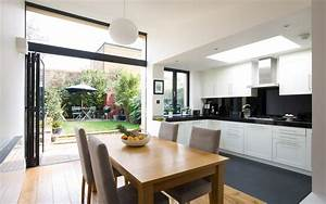kitchen dining room extension design ideas dining room With kitchen and dining design ideas