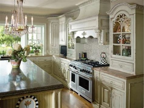 French Country Galley Kitchen  Home Decor & Interior