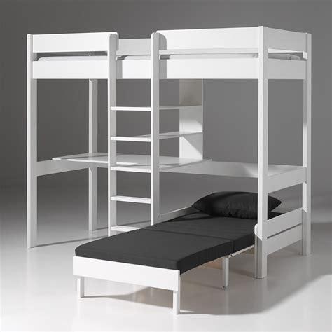 bureau 3 places photo lit mezzanine 2 places avec canape lit chaios com