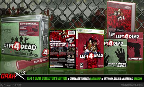 left  dead collectors edition xbox  box art cover