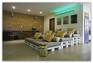 Couch Aus Paletten : paletten lounge low budget outdoor relax zone ~ Whattoseeinmadrid.com Haus und Dekorationen