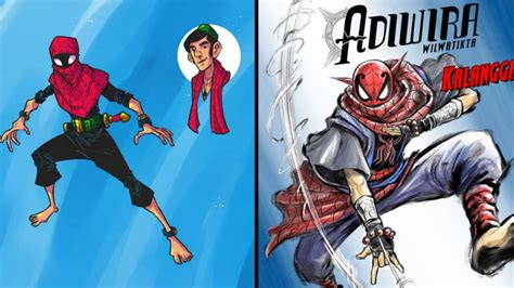 comic book artists create spectacular indonesian versions