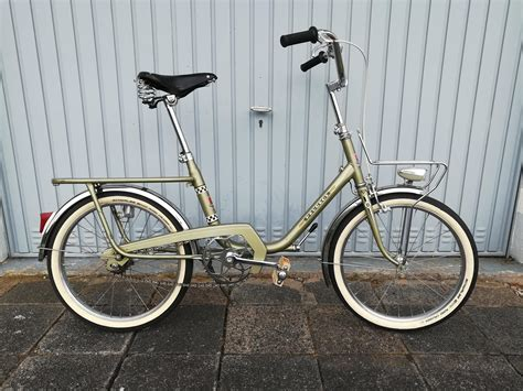 Peugeot Folding Bike by Peugeot Folding Bike From The 70s Bicycling
