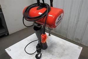Cm Lodestar Rr 2 Ton 2hp Electric Chain Hoist 208 460v