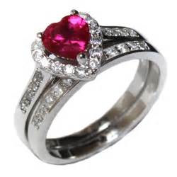 Red Heart Promise Ring