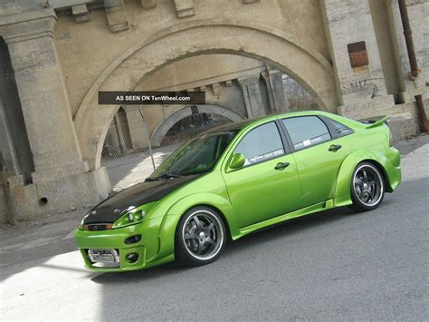 mummbles marketing  ford focus zts turbo wide body