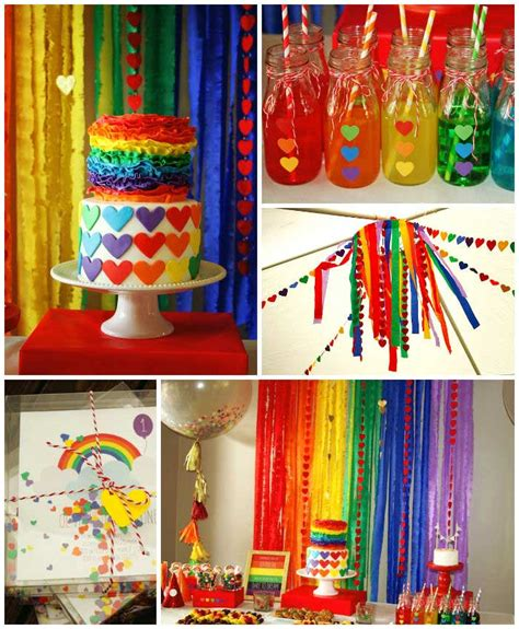 kara 39 s party ideas rainbow themed birthday party kara 39 s party ideas rainbow themed birthday party with