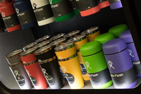 hydro flask unveils  retail wall display