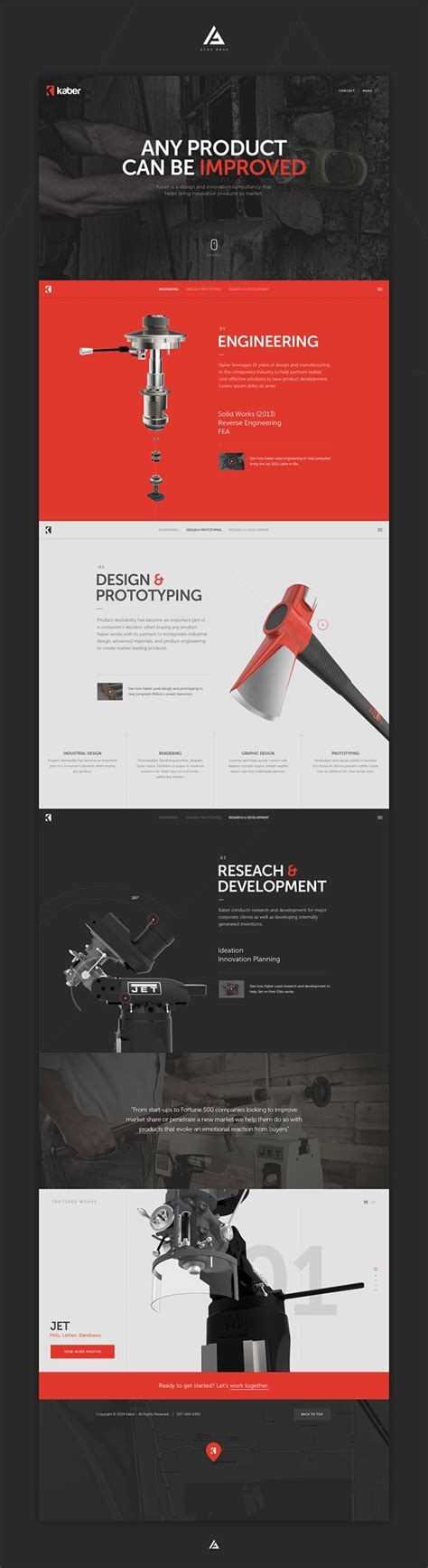 web site design 20 clean web design inspiration 2015