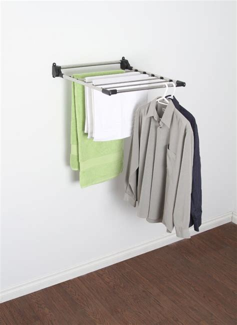 rebrilliant greenway indoor wall mount drying rack