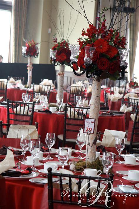 canadiana themed gala toronto  wedding decor