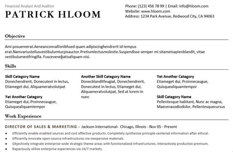 combination resume template word 20 free resume templates for word that ll help you land a 20917