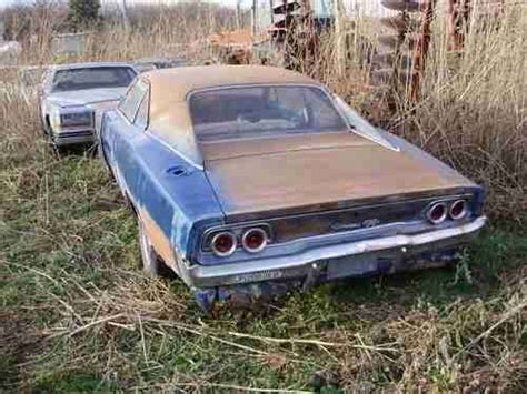 1968 dodge charger relics cars junkyard cars rusty cars