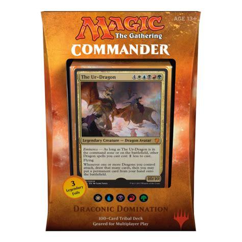 Magic The Gathering Commander 2017 Deck Draconic