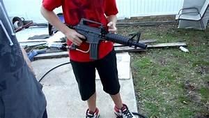 Shooting the neighbors house with paintball guns ...