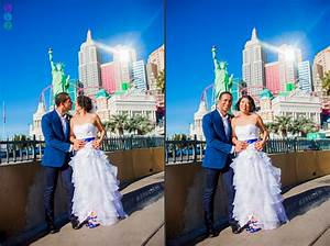 las vegas strip wedding photos happy fun michelle With fun las vegas weddings