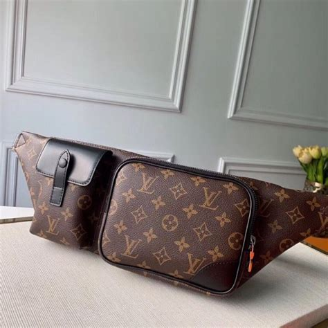 lv mens discovery bumbagbelt bag bag  monogram canvas  collection gearpy