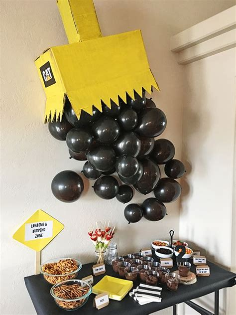 construction birthday party ideas pretty  party