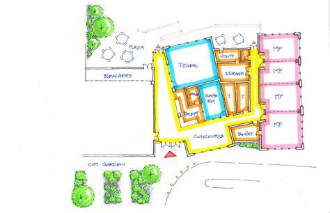 Diagram Of Community Center by William Beanes Community Center Schematic Design Smolen