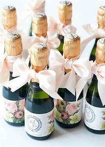 Alcohol themed wedding favors wedding champs and shower for Gift ideas for wedding party