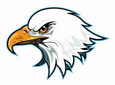 Eagle Head Profile stock vector Illustration of team