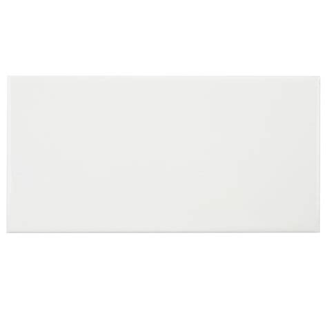 merola tile park slope subway glossy white 3 in x 6 in