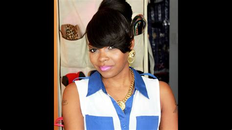 Black Hairstyles With Bangs And Buns by Weave Bun Hairstyles With Bangs Imagesgratisylegal