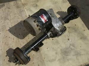 Rear End Differential Assembly Hyundai Golf Cart Axle With