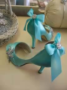Tiffany Blue Heels Wedding Shoes
