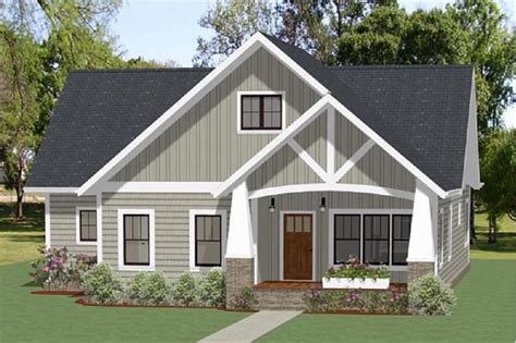 bedrm  sq ft craftsman house plan