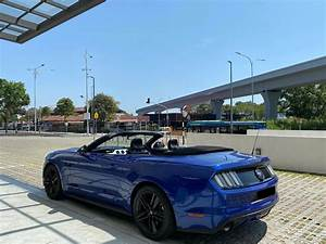 Ford Mustang Convertible at Luxury Car Rental KL