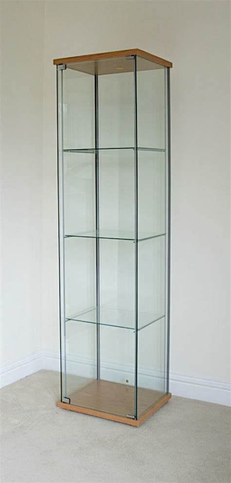 Ikea Detolf Glass Display Cabinet Light by Ikea Detolf Glass Display Buy Sale And Trade Ads
