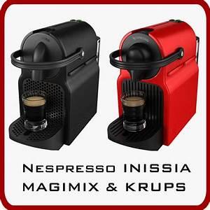 Nespresso Inissia Krups : nespresso inissia magimix krups 3d max ~ Melissatoandfro.com Idées de Décoration