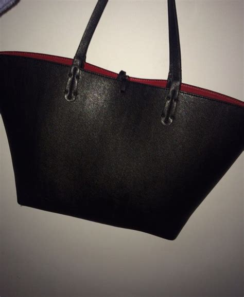 bag black bag bags purses leather bag black red