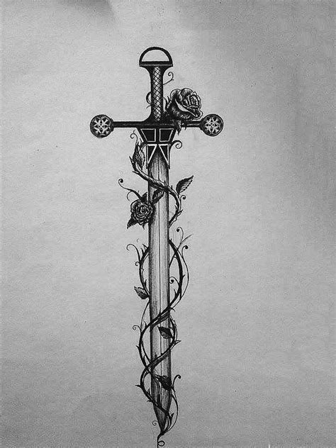 Best 25+ Sword Tattoo Ideas On Pinterest  Lotr Tattoo