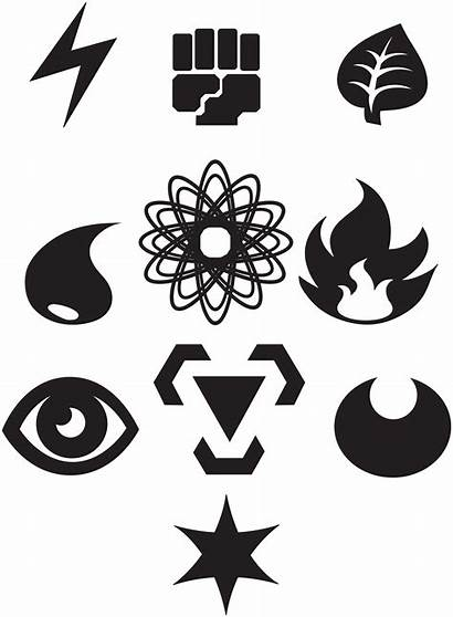 Pokemon Energy Symbols Vectorized Deviantart Th