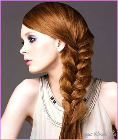 quick easy hairstyles for thick hair latestfashiontips com