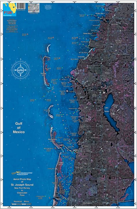 richey port clearwater chart pass aerial fishing maps f128 fl florida map st joseph keith satellite