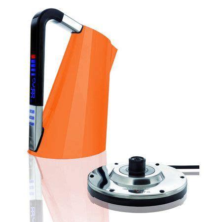 Bugatti, vera easy, bollitore elettrico con filtro anticalcare removibile, capac. Bugatti Touch Sense Vera Kettle - Orange at Amara | Electric kettle, Kettle, Bugatti