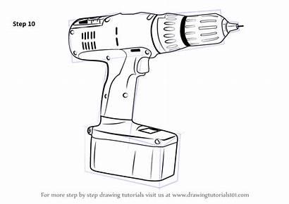 Drill Draw Machine Drawing Tools Step Finish