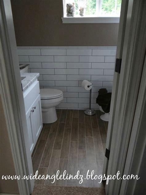 wood tile bathroom floor faith family farm a toilet should never be in the middle