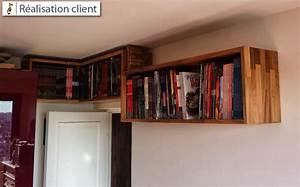 Etagere Sur Mesure En Ligne : tag res en bois massif sur mesure le blog du bois ~ Edinachiropracticcenter.com Idées de Décoration