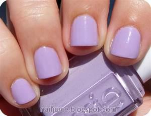 Essie nice is nice. fave purple polish. light purple with ...