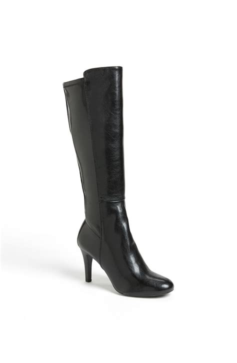 franco sarto dover boot black lyst