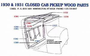 U0026 39 31 Pickup Wood Kit Diagram
