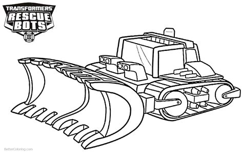 rescue bots coloring pages transformers rescue bots boulder coloring pages free